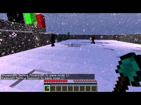 Minecraft: Batalha do Século!!!!! Nikki vs Phoenix vs Konrado