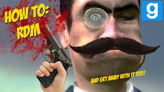 A detailed guide on how to be an asshole on Garry's Mod. Music: Pachelbel Canon in D Johann Strauss - Radetzky March Azure Remix - SoEpik Keep on ...