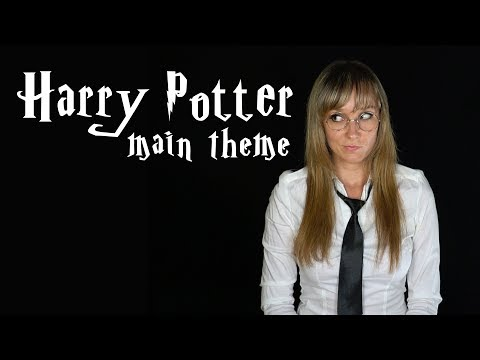 "John Williams  ""Harry Potter Main Theme"" Cover by Anastasia Soina"