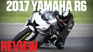 3. 2017 Yamaha YZF-R6 Review | 4K