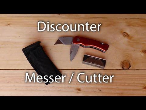 Discounter Messer / Cutter