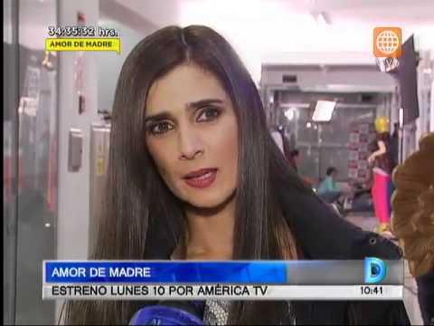 Amor de Madre: este lunes 10 por América Tv