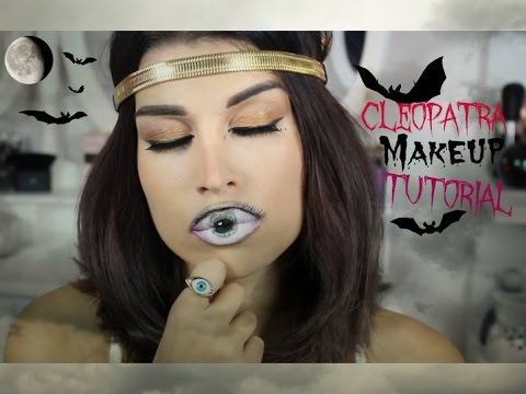 Cléopatra Halloween Makeup Tutoriel