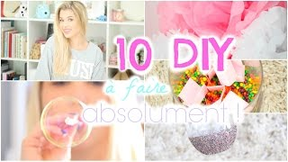 [ DIY n°6 ] : 10 DIY à faire ABSOLUMENT ! - YouTube