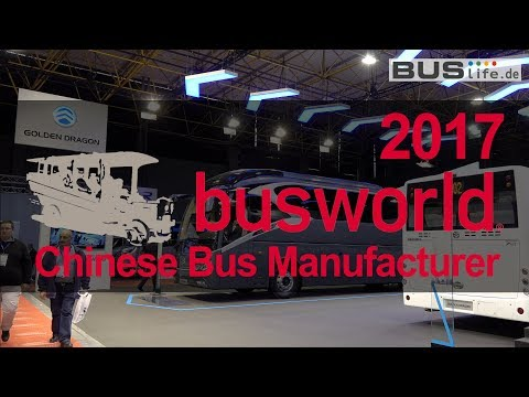 Busworld 2017 | Overview of Chinese bus manufacturer
