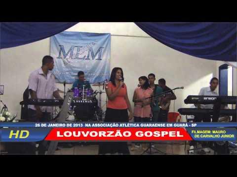 Louvorzão Gospel na AAG em Guará - SP HD Video 7-7