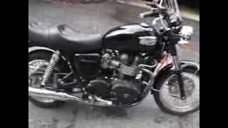 7. 2007 Triumph Bonneville Black 2300 miles excellent shape last year carb 865cc
