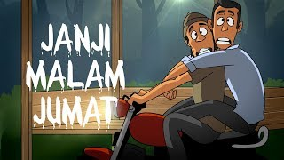 Video Kartun Hantu - Janji Malam Jumat MP3, 3GP, MP4, WEBM, AVI, FLV Februari 2019