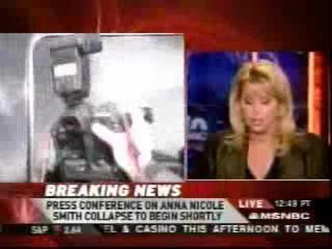 Anna Nicole Smith Dead 2-8-07