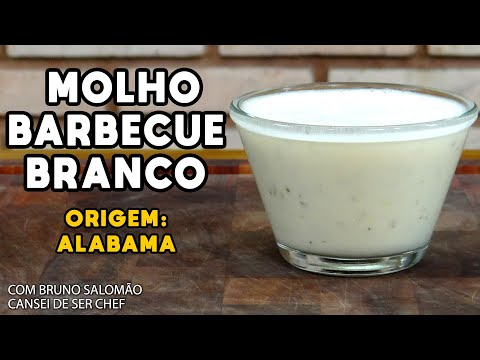 Barbecue Branco Do Alabama (white Barbecue Sauce) - Cansei De Ser Chef - Mestres Do Churrasco