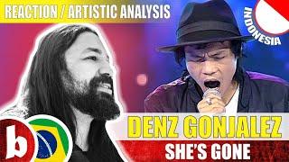 Video DENS GONJALEZ! She's Gone (Steelheart) - Reaction Reação & Artistic Analysis (SUBS) MP3, 3GP, MP4, WEBM, AVI, FLV April 2019