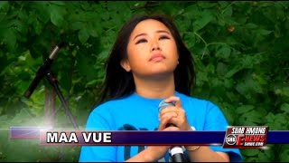 Suab Hmong E-News: Maa Vue at CHAT Stage 2014 Hmong Freedom Celebration
