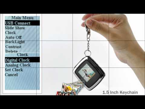 15 inch keychain digital photo frame youtube