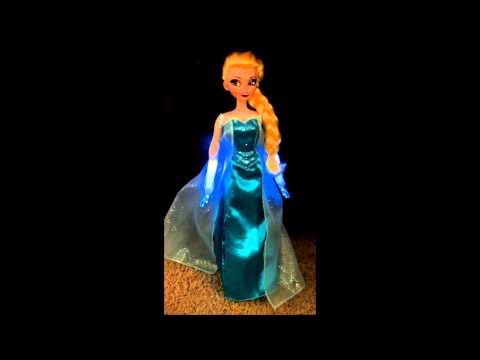 Elsa Singing Doll - Disney Store