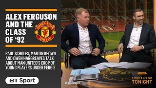 Download Video Fascinating discussion with Paul Scholes about Sir Alex Ferguson and the Class of '92 MP3 3GP MP4