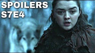 Game of Thrones Season 7 Episode 4 has leaked online and many of you have already watched the Episode. This video will not be a review of Game of Thrones Season 7 Episode 4 but there is one scene that was accidently released that I want to talk about and that's the scene of Arya Stark and Brienne Sparring together at Winterfell. Not only that but in that scene you can see Arya Stark wearing the Valyrian Steel Dagger that was once used to try accidently bound kill Bran Stark. Now that Arya has Valyrian Steel this may be a sign of what's to come for her story. Comment below and tell me what you thought about this scene. Did you enjoy watching Arya and Brienne fight it out for a few minutes? Let me know. Thanks for watching! Images from Game of Thrones are property of their creators, used here under fair use. Follow me on Twitter here! https://mobile.twitter.com/Talking_ThronesSupport the channel on Patreon here! https://www.patreon.com/TalkingThrones