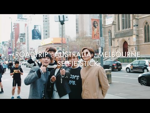B1A4 'Road Trip - Ready?' Behind Clip #10 SELFIE STICK