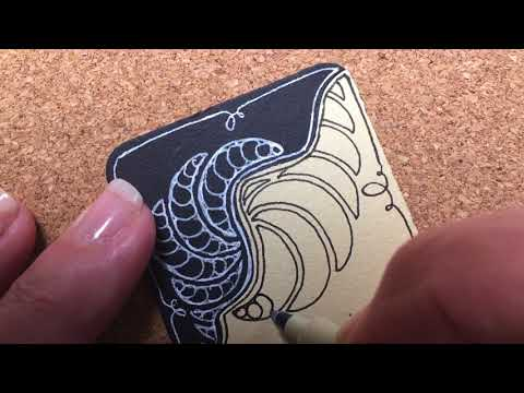 Zentangle® Project Pack #02 - Day Nine