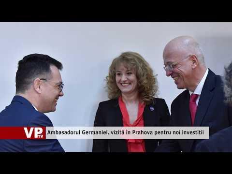 Ambasadorul Germaniei, vizită în Prahova pentru noi investiții