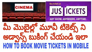 Nonton How to book movie tickets online in mobile {Telugu}| book movie tickets in justickets app in telugu. Film Subtitle Indonesia Streaming Movie Download