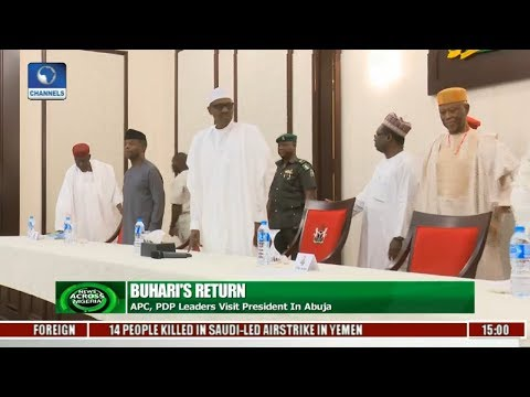 Buhari Meet APC PDP Leaders In Abuja |News Across Nigeria|