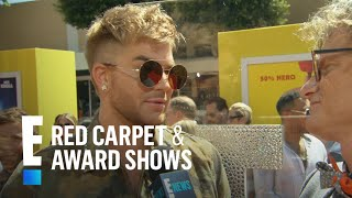 <b>Adam Lambert</b> Weighs In On New American Idol  E Live From The Red Carpet