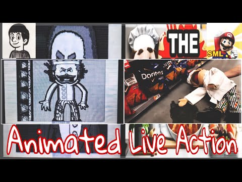 SML Movie: The Bet! Animated + Live Action