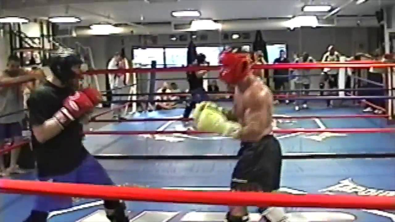 Phil Baroni Vs Chuck Liddell with Dana White - Old School Sparring