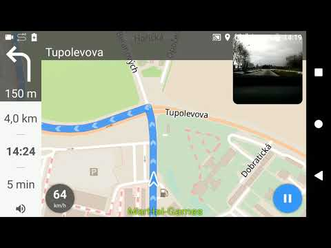Test app map galileo offline maps and navigation Android & iOS – Shot at SONY XPERIA XA2 ULTRA