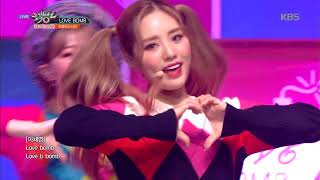 Video 뮤직뱅크 Music Bank - LOVE BOMB  - 프로미스나인(fromis_9).20181012 MP3, 3GP, MP4, WEBM, AVI, FLV Januari 2019
