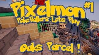 Pixelmon Server Minecraft Pokemon Mod Pokeballers Lets Play! Ep 1 - Oak's Parcel!