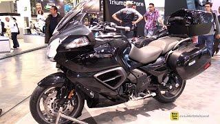 7. 2015 Triumph Trophy SE Part 1 - Walkaround - 2014 EICMA Milan Motorcycle Exhibition