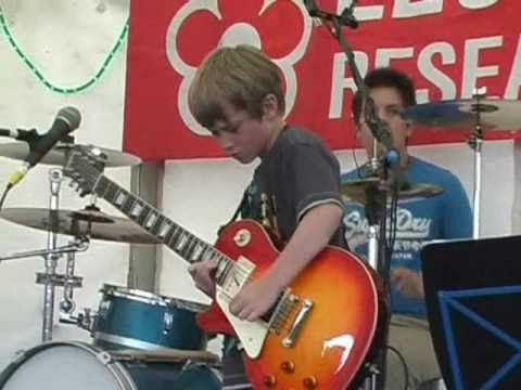 7 Year Old Nails Dani California - Awesome Outro+improv