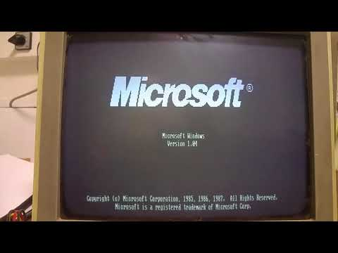 Установка Windows 1 (1985)