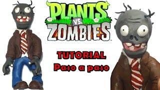 Plants vs zombies 2 papapum en porcelana plastilina for Como hacer la casa de plantas vs zombies en minecraft
