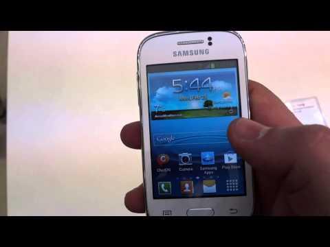 Samsung Galaxy Young - nowy budżetowy smartfon na targach MWC