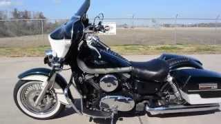10. $3,799:   2004 Kawasaki Vulcan 1500 Classic with Harley Fairing and Saddlebags