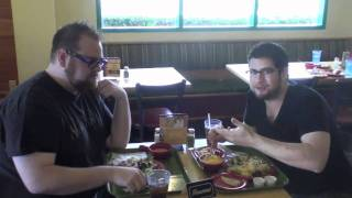 After meeting on-line through the Souplantation/Sweet Tomatoes Facebook Fan Page, Jeffrey Eisner & Jeffrey Marx finally meet up in person TOGETHER at the ...