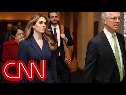 Journalist details Hope Hicks' time at the White House