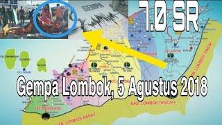 Video Viralkan ! Detik-detik terjadinya Gempa 7.0 SR di Lombok Utara MP3, 3GP, MP4, WEBM, AVI, FLV Agustus 2018
