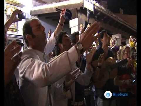 Llegada al Rocio Hdad de Huelva 2011. Canal HuelvaTV