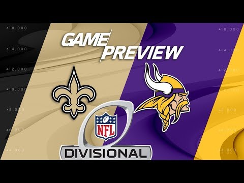 Video: New Orleans Saints vs. Minnesota Vikings | NFL Divisional Round Preview | Move the Sticks