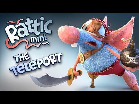 Funny Cartoon | Rattic Mini – The Teleport | Cartoons For Children | Funny Animated Cartoon Series (видео)