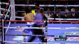 Round 3: Manny Pacquiao vs Shane Mosley
