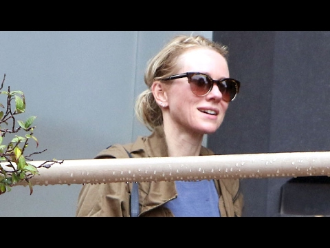 Naomi Watts Goes Makeup Free At Yoga And Grocery Store