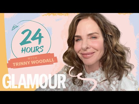 24hrs With Trinny Woodall (In Lockdown) | GLAMOUR UK