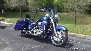 10. Used 2013 Harley Davidson CVO Road King Motorcycles for sale - New Port Richey, FL