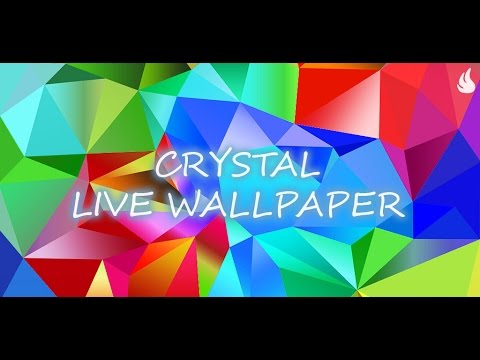 Video of Crystal Live Wallpaper