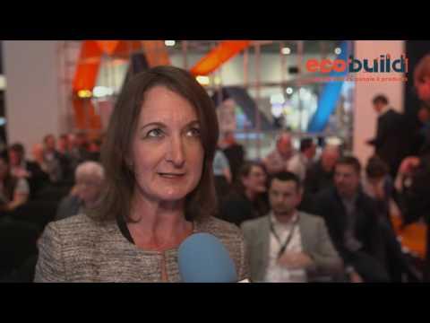 Ecobuild 2017: Professor Denise Bower
