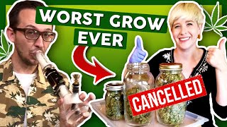SEASON FINALE 😅How to NOT Grow at Home: Trimming & Storage by That High Couple